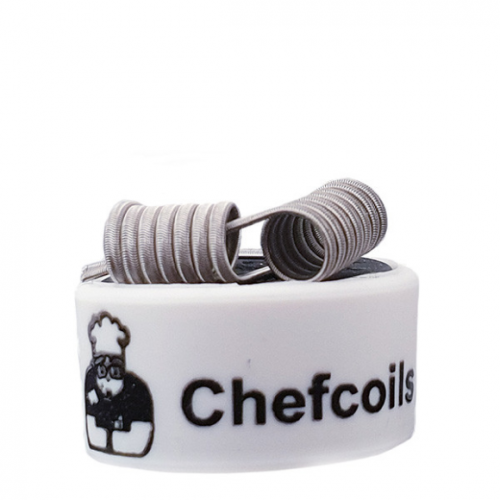 Chefcoils by Chefkoch -Prebuilt Walküre Ni80 Coil- 0.27 Ohm, 2er-Pack