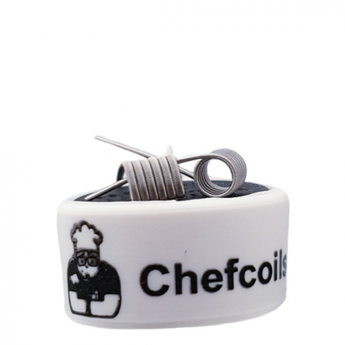 Chefcoils by Chefkoch -Prebuilt Fused Ni80 Coil- 0.64 Ohm, 2er-Pack