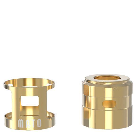 VandyVape -MATO RDTA Tankshield und Topcap, gold, -NEU