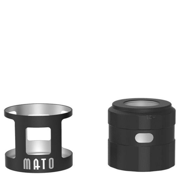 VandyVape -MATO RDTA Tankshield und Topcap, schwarz, -NEU
