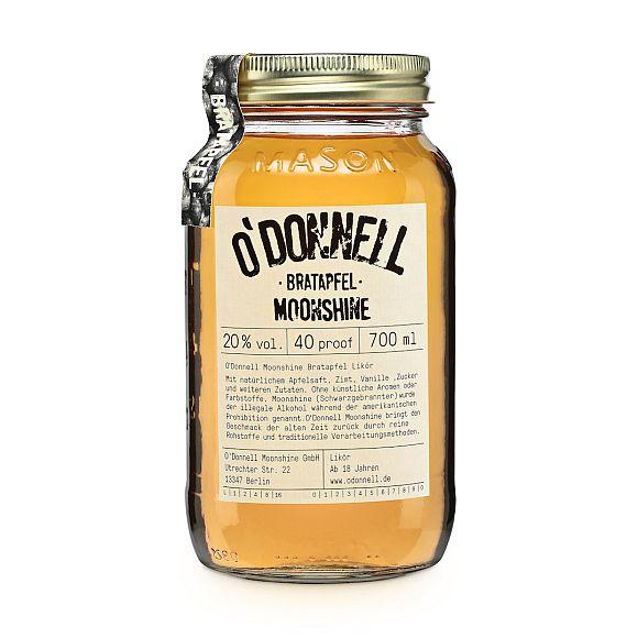 ODonnell Moonshine -Bratapfel- 700 ml, 20%vol. Likör