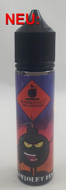 Bang Juice -Ultraviolet Fusion- Aroma 15ml, Flasche 60ml -NEU