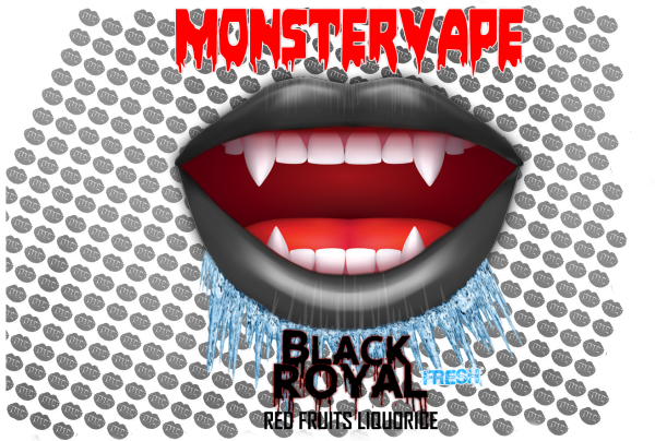 Monstervape -Black Royal- Aroma 13ml in 120ml Flasche -NEU