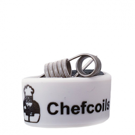 Chefcoils by Chefkoch -Prebuilt Big+ Ni80 Coil- 0.40 Ohm, 2er-Pack