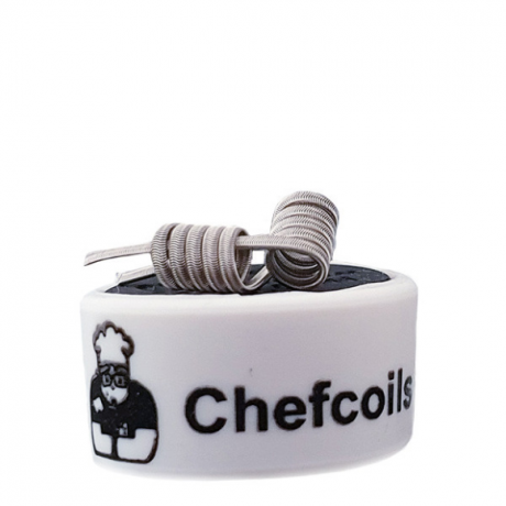 Chefcoils by Chefkoch -Prebuilt Mech Ni80 Coil- 0.22 Ohm, 2er-Pack