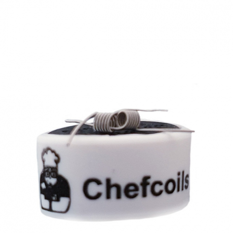 Chefcoils by Chefkoch -Prebuilt MTL Ni80 Coil- 1.70 Ohm, 2er-Pack
