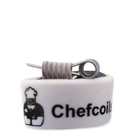 Chefcoils by Chefkoch -Prebuilt Alien V2A Coil- 0.26 Ohm, 2er-Pack