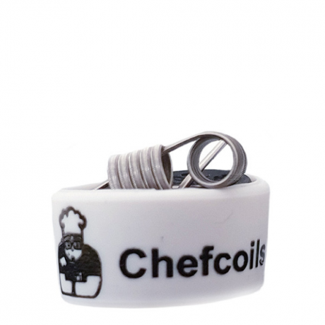 Chefcoils by Chefkoch -Prebuilt Big+ V2A Coil- 0.30 Ohm, 2er-Pack
