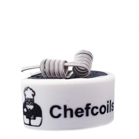Chefcoils by Chefkoch -Prebuilt Mech V2A Coil- 0.20 Ohm, 2er-Pack