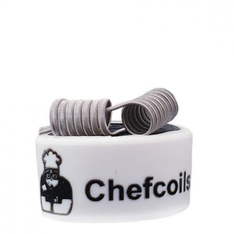 Chefcoils by Chefkoch -Prebuilt Walküre V2A Coil- 0.19 Ohm, 2er-Pack
