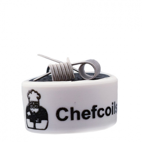 Chefcoils by Chefkoch -Prebuilt Fused V2A Coil- 0.44 Ohm, 2er-Pack