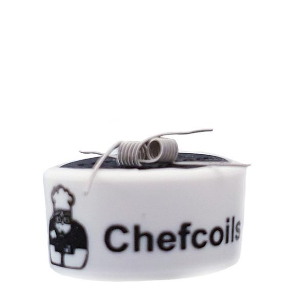 Chefcoils by Chefkoch -Prebuilt MTL V2A Coil- 1.65 Ohm, 2er-Pack