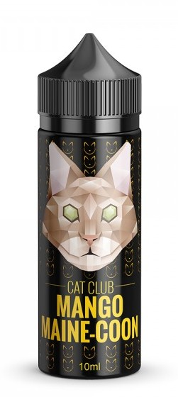 Cat Club Aroma -Mango Maine Coon, 10ml in einer 120ml PET-Flasche -NEU