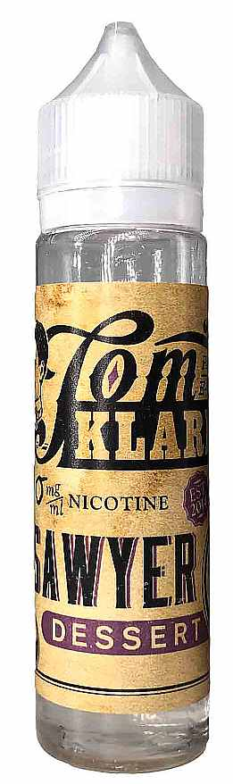 TOM KLARKs DESSERT 60ml, 00mg, Shortfill -NEU