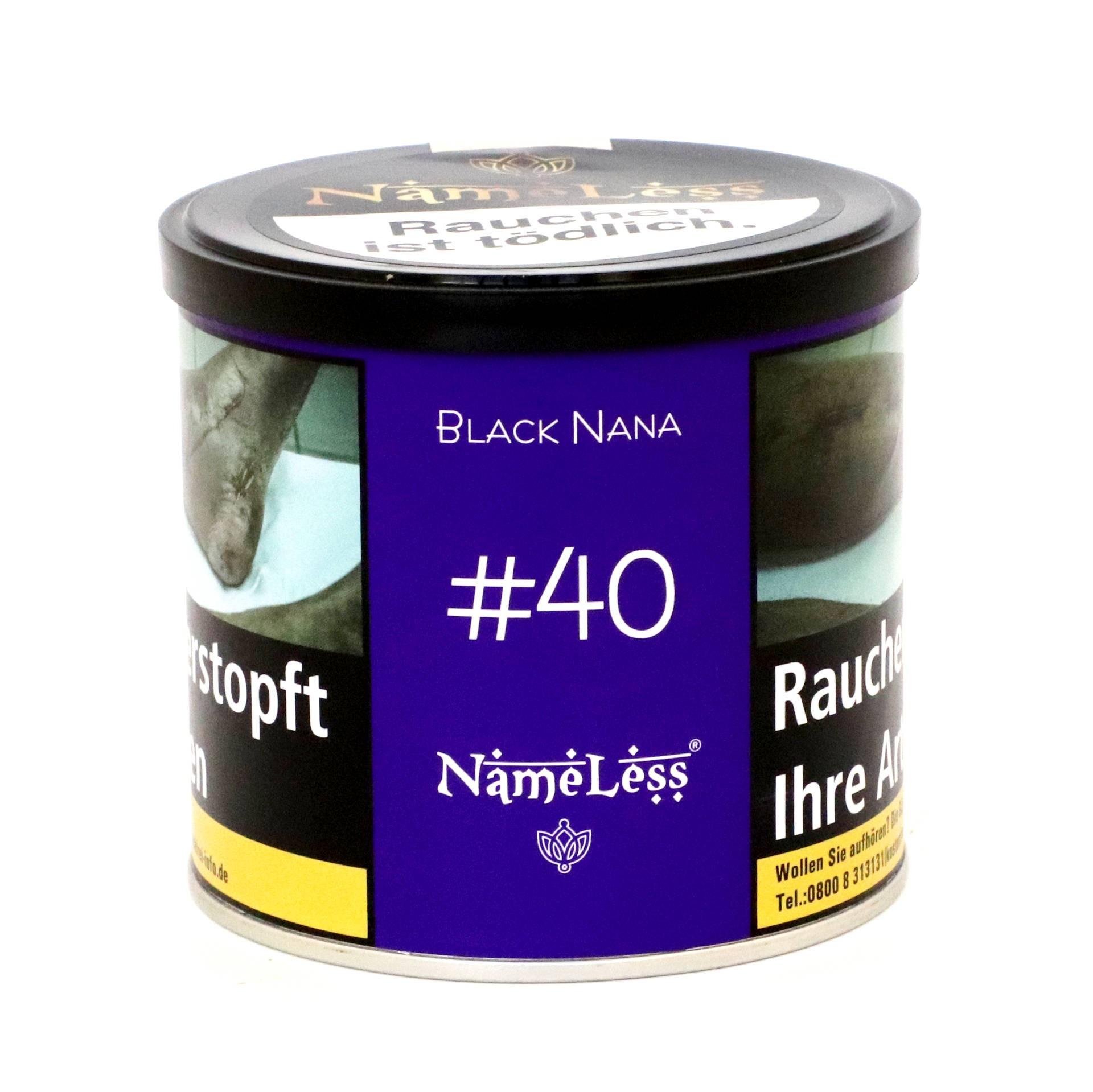 NameLess Tobacco - #40 Black Nana