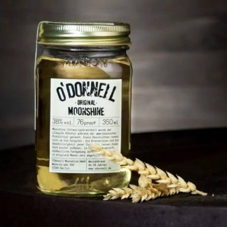 ODonnell Moonshine -Original- 350 ml, 38%vol. Weizenbrand