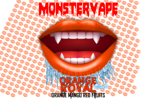 Monstervape -Orange Royal- Aroma 13ml in 120ml Flasche -NEU