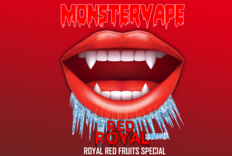 Monstervape -Red Royal- Aroma 13ml in 120ml Flasche -NEU