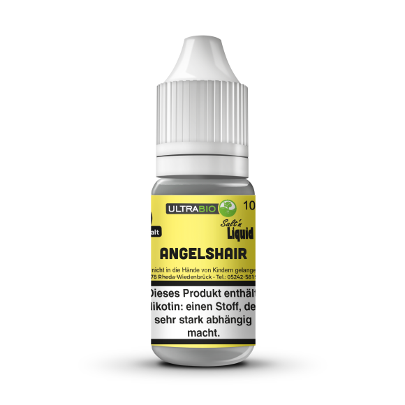 Urban Juice Nikotinsalz Liquid -Angelshair- 10ml, 12mg -NEU