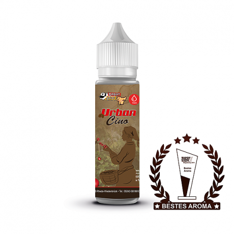 Urban Juice -Urbancino- Aromashot, 15ml in 60 ml Flasche