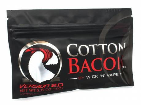 Cotton Bacon V2 -Baumwollwatte Btl./10 Stck.by Wick N Vape