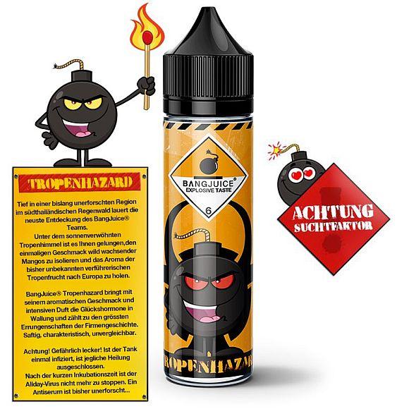 Bang Juice -Tropenhazard- Aroma 15ml, Flasche 60ml -NEU