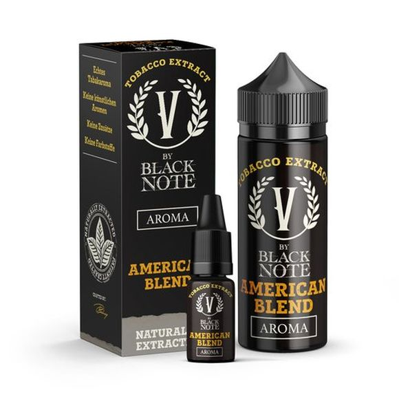 V by Black Note -American Blend- 10ml Aroma