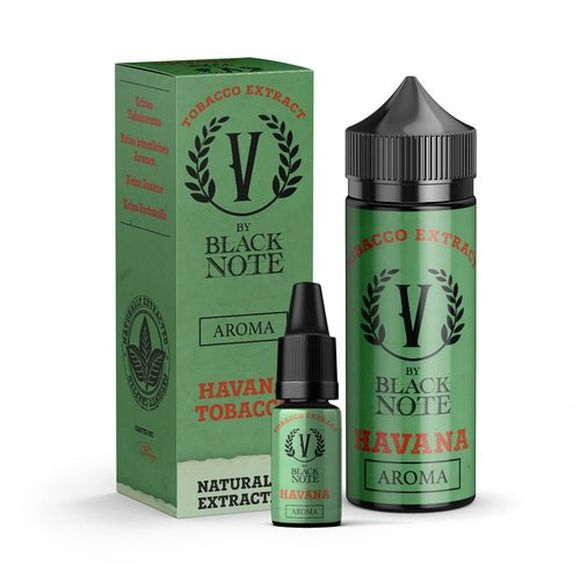 V by Black Note -Havana- 10ml Aroma