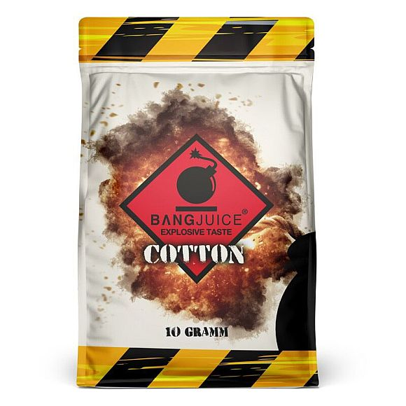 Bang Juice -Cotton Watte 100%, 10g -NEU