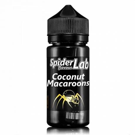 Spider Lab Aroma Coconut Macaroons 10ml Aroma in 100ml Chubby -NEU