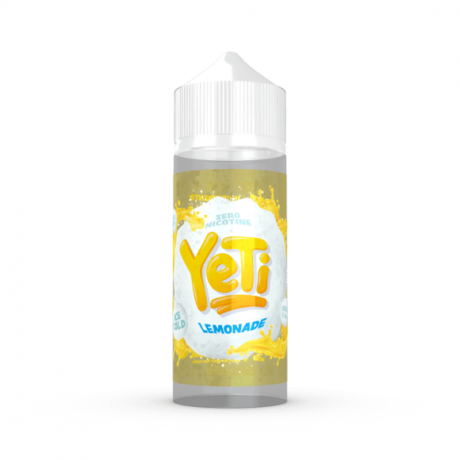 Yeti -Lemonade- Liquid, 100ml, 0mg, in 120ml Flasche